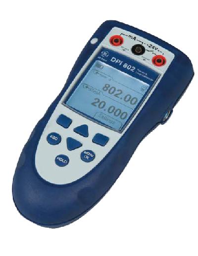 DPI 800/802 - Indicador de Pressão/Calibrador de Loop
