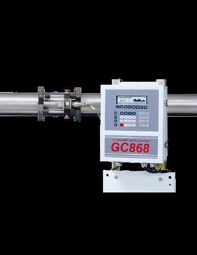 GC868 DigitalFlow - Medidor de Vazão de Gases Ultrassônico Não Intrusivo