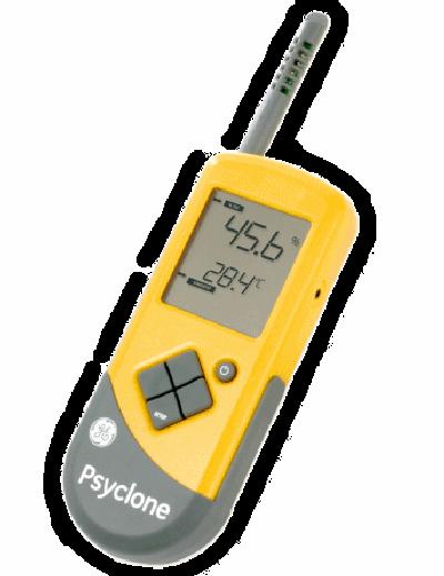 Psyclone – termo-higrômetro