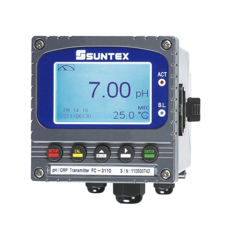 Transmissor para pH Suntex pc-3110
