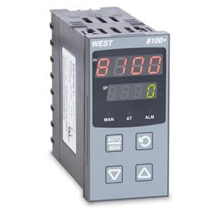 CONTROLADOR DE TEMPERATURA E PROCESSOS WEST 8100 | P8100+
