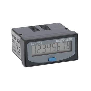 O Tico 731 é um dos principais contadores eletrônicos da Hengstler. Os cinco membros da série Tico 731 são caracterizados pela sua versatilidade e estão disponíveis como contadores, tacômetros ou temporizadores.